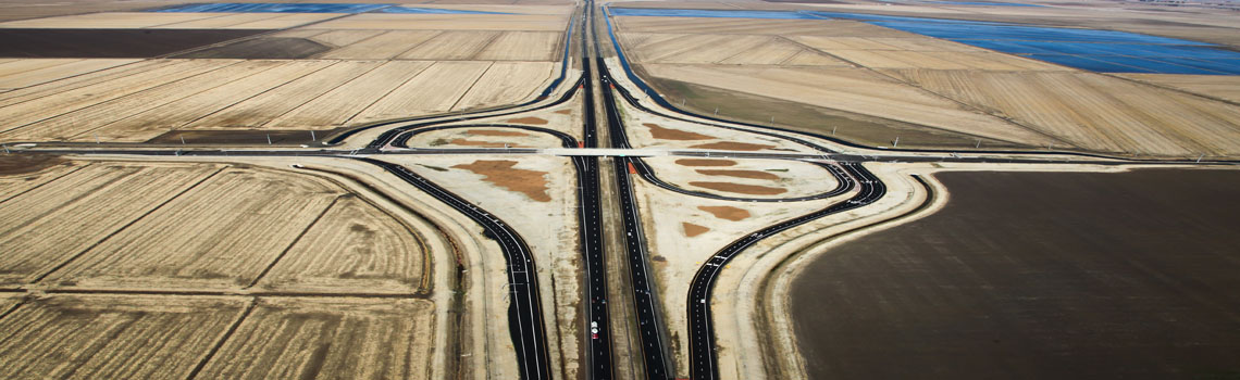 State Route 99 @ Elverta Road Interchange Project – Completed October 2013