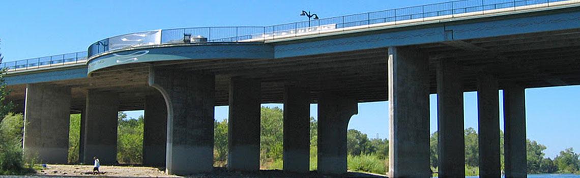 Watt Avenue Bridge - Completed 2002